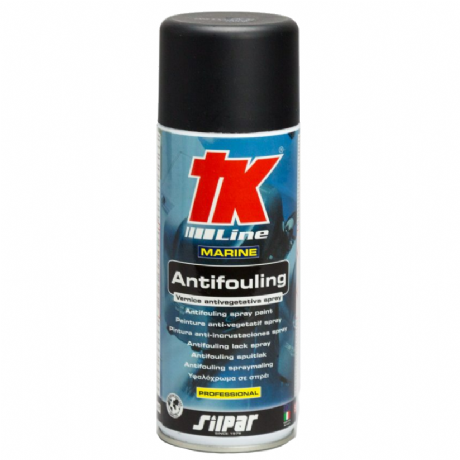 TK Line Antifouling Black Spray Paint - 400ml